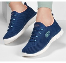 Skechers Women's  Summits Fast Attraction | Navy/Coral