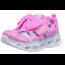 SKECHERS Skechers Girls' Heart Lights Sparkle Sparks Sneaker, Hot Pink/Turquoise