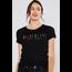 Reflex Reflex Solid Cotton Slub CA Embroidery Short Sleeve Tee S379| Black