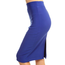 Solid Pencil Skirt 1160SCU | Royal Blue