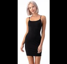 Hearts & Hips Bodycon Cami Dress | Black