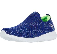 Skechers Kids Girl's Sport  Ultra Flex 81531L | Blue/Multi