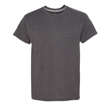 Hanes Men's X-Temp Crewneck Short-Sleeve T-Shirt 4200 | Charcoal Heather