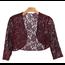 EVA USA EVA USA Lace Sequins Cardigan 3278 | Burgundy