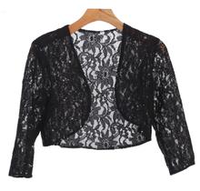 EVA USA Lace Sequins Cardigan 3278   Black