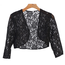 EVA USA EVA USA Lace Sequins Cardigan 3278   Black