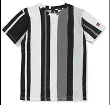 Southpole Big Boys' Striped Tee 19125-1072 | Black/White