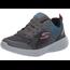SKECHERS Skechers Big Boys' Go Run 600 Hendox Sneaker | Black/Charcoal/Blue 97857