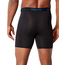 Hanes Mens Comfort Flex Fit Breathable Mesh Boxer Briefs 4-Pack CFFSP4 | Black/Grey