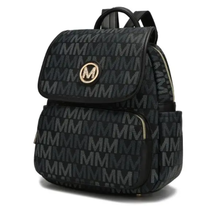 MKF Collection Drea Signature Backpack by Mia K.  | Black