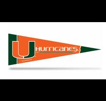 Miami Hurricanes  Middle Man Pennant - Mini