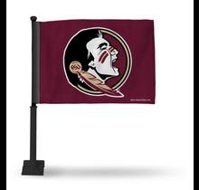 Florida State Seminoles Car Flag - Black Pole