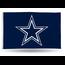 Rico Industries Dallas Cowboys Banner Flag Blue Bkg/Star 3' x 5'