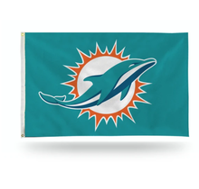 Miami Dolphins Banner Flag 3' x 5'