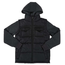 Southpole Big Kids' Twofer Padded Vest and Jacket All in One | Black