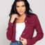 YMI Jeans YMI Junior Hyperstretch Jacket - Maroon / Burgundy -  J91431