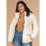 YMI Jeans YMI Junior Plus Size Jacket with Detachable Hoodie JP1476 | Pearl