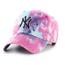 New York Yankees Magenta Marbled 47 Clean Up | Tie Dye