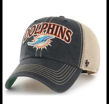 Miami Dolphins Vintage Black Tuscaloosa  47 Clean Up