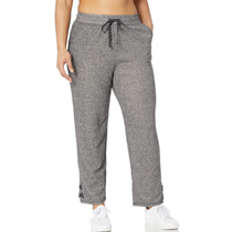 Just My Size Women's Plus Size Jogger with Lace-up Legs OJ934