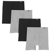 Hanes Men's 4-Pack Comfortsoft Extended Sizes Boxer Briefs 7460P4
