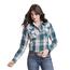 Wrangler Wrangler Women's Plaid Western Snap  Shirt LW8045M