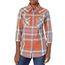 Wrangler Wrangler Women's Plaid Western Snap Shirt LWE725M