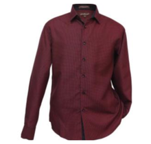 St. Patrick Small Paisley Microfiber Shirts MSL19