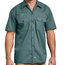 Dickies Dickies Short Sleeve Twill Work Shirt Original Fit 1574LN, Lincoln Green