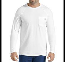 Temp-iQ™ Performance Cooling Long Sleeve T-Shirt, White SL600WH