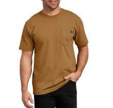 Dickies Men's Heavyweight Short Sleeve Tee, Brown Duck | WS450BD