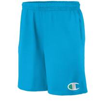 Champion Men's Graphic Jersey Short, Deep Blue Water, Big C Logo G856H 7YF