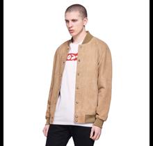 Levi's Men's Genuine Goat Suede  Varsity Bomber Jacket