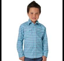 Wrangler Boy's 20X® Competition Long Sleeve Shirt BJC296B
