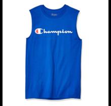 Champion Men's Classic Jersey Muscle Tee, Script Logo GT22H Y07718 - Surf the Web