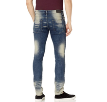 WT02 Pants Skinny Ripped Jeans Md. Sand Rust 19391-3102