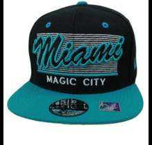 Miami Magic City Snapback | Stripe Design