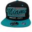 Black Hawk Miami Magic City Snapback | Stripe Design
