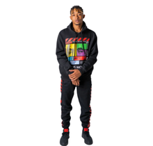 Evolution in Design TIME IS MONEY 2 Pcs Fleece Pullover Hoody jogger Outfit Set
