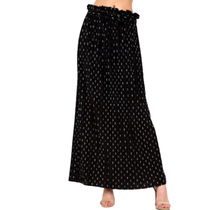 Women's PLUS Paperback Pleated Print Skirt PB902