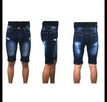 WT02 Mens Jean Biker Shorts 18391-3221