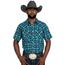 Wrangler Wrangler Men's Retro Plaid Short Sleeve Western Shirt MVR509T