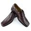 Antonio Cerrelli Antonio Cerrelli Mens Leather Dress Shoes, Charcoal Brown 5795
