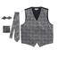 Gioberti Men's Formal 4pc Paisley Vest Set VSM-96P