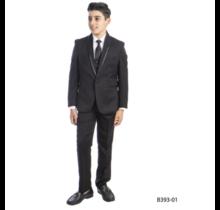 TAZIO Boy's 5pc Suit Regular Fit B393 (Big Kids)