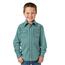 Wrangler Wrangler Wrangler Boys' 20X Geo Print Long Sleeve Western Shirt BJC265G