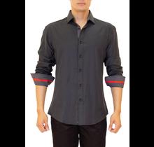 BC Men's Button-Up Long Sleeve Dress Shirt 202254