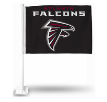 NFL Atlanta Falcons Car Flag