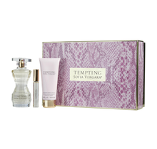 Tempting By Sofia Vergara Gift Set Eau De Parfum Spray 3.4 oz & Shimmer Body Lotion 3.4 oz & Eau De Parfum Rollerball 0.33 oz
