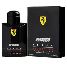 Ferrari Scuderia Black Signaturemen Eau De Toilette Spray 4.2 oz